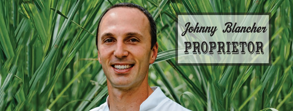 Chef/Owner Johnny Blancher